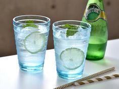 水を炭酸水に代えるとスッキリと爽やかな味わいに。満腹感が高まりますよ。