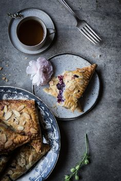 Wistfully Country — Lavender Blueberry & Ricotta Turnovers | Local...