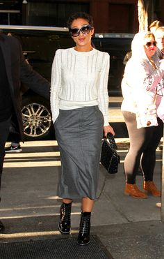 Ruth Negga arriving at the 'Today' show in NYC