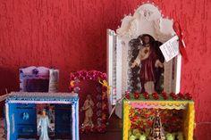 Arte e Decoração: Meus trabalhos artesanais - oratórios