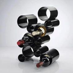 Pipe Wine Bottle Holder