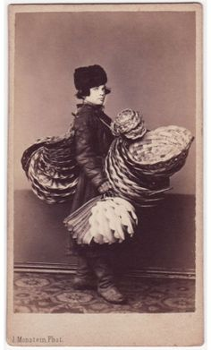 19th Century Russia--He must B a Basket Weaver or something. Just love Old Pic's.