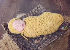 Ravelry: Kylie Baby Cocoon or Swaddle Sack pattern by Crochet by Jennifer
