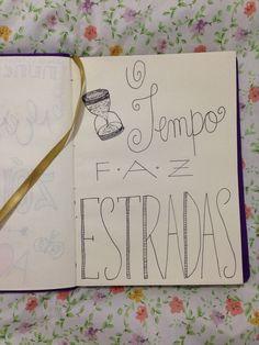 Letra da musica do Cordel do Fogo Encantado com caligrafia feita por mim.