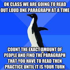 I bet socially awkward penguin was also homeschooled.
