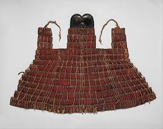 Lamellar Armor of Lacquered Leather, Tibet, century Larp, Lamellar Armor, Types Of Armor, Chinese Armor, Arms Race, Pauldron, Leather Armor, Clothing And Textile, Futuristic Design