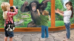 Cute Animals and Funny Pets: Kids with Gorilla At The Zoo, wild animals compilation Cute Babies, Pets, Videos, Music, Youtube, Animals, Musica, Musik, Animaux