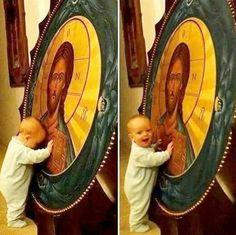 Keep seeking Truth, young one ~ Jesus Tattoo, Catholic Art, Religious Art, Jesus Laughing, Church Memes, Jesus Our Savior, Bless The Child, Jesus Christ Images, Jesus Christus