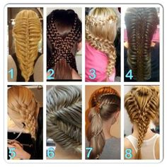 Braids lots to try!