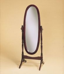 Accent Mirrors on powell heirloom cherry cheval floor mirror