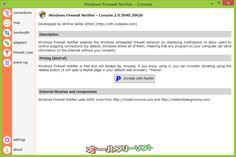 Windows Firewall Notifier--2.0 ALPHA--オールフリーソフト