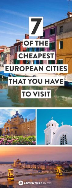 Cheapest European Cities   Looking for affordable destinations in Europe that wont break the bank? Here are our top picks for cities including a daily budget for them.