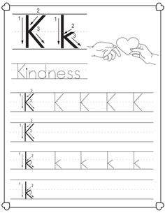 letter k worksheets bing images letter k letter k lettering worksheets. Black Bedroom Furniture Sets. Home Design Ideas