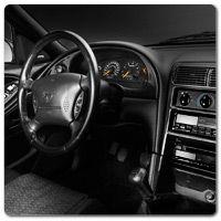 99 04 Mustang Carbon Fiber Interior Dress Up