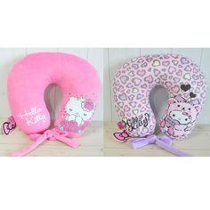 Hello Kitty Neck Cushion U Shape Travel Pillow Girls Office Car Gift Pink Purple