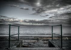 """""""The Last Steps"""" Taken at Willows Beach Jan 10, 2013"""