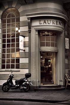 Laurent Cafe, Melbourne. Would make a perfect background for certain photo shoot.