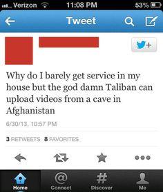 Bad Internet service…