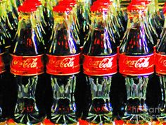 Coca Cola Coke Bottles by Wingsdomain Art and Photography Eclectic museum quality fine art and photography framed prints, canvas prints, wood prints, and metal prints. Andy Warhol Artist, Coca Cola, Canvas Art For Sale, Vintage Coke, Framing Photography, Art Photography, Framed Prints, Canvas Prints, The Draw
