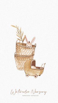 Boho Nursery, Nursery Art, Nursery Furniture, Buda Wallpaper, Fiance Birthday Card, Baby Boy Cards, Baby Icon, Floral Logo, Baby Shower Invitation Templates