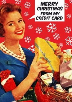 Merry Christmas from my Credit Card | Funny Christmas Card