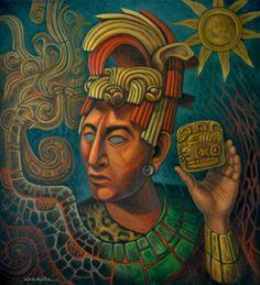 """""""Maya"""" óleo/tela/ Carlos Orduna Barrera"""