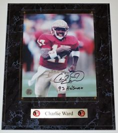AAA Sports Memorabilia LLC - Charlie Ward Autographed Florida State  Seminoles 8x10 Photo - with FREE WALL PLAQUE - Limited Edition  charlieward   fsu ... 2f531c1fb