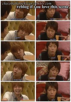 Kyohei realizing he loves Sunako  I loved this scene, one of my fav from Wallflower! Seriously I could watch it on repeat along with a few others..