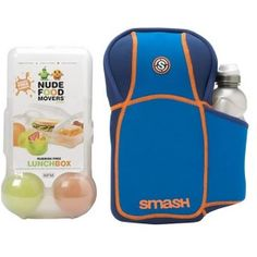 Blue Nude Food lunch Box Kit with Bottle