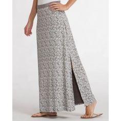 Wanderer Maxi Skirt in Coastline | SALE