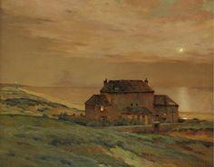 Jean-Charles Cazin - Clair de lune en mer