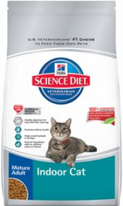FREE Bag of Hill's Science Diet Mature Adult Indoor Cat Food (500 Winners)! #giveaway