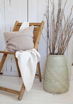 Handmade basket from Yawama of Sweden