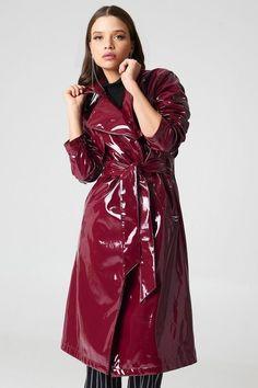 Raincoats For Women Christmas Gifts Vinyl Raincoat, Yellow Raincoat, Hooded Raincoat, Black Rain Jacket, Rain Jacket Women, Long Jackets, Jackets For Women, Imper Pvc, Fashion Clothes