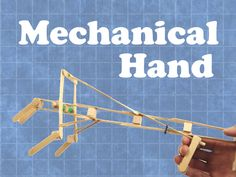 Students will make a simple mechanical hand with a trigger connected to a hinge. Once complete, students can test the ability of their hand by trying to pick up as...