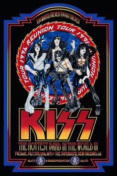 Rock Posters, Concert Posters, Concert Rock, Kiss Concert, Rascal Flatts, Lady Antebellum, Brad Paisley, Black Sabbath, Rock And Roll Bands