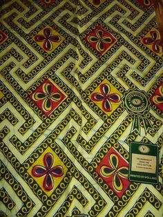 tissu en coton polyester et lin motif ethnique jaune et. Black Bedroom Furniture Sets. Home Design Ideas