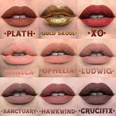 Kat von D new Everlasting liquid lipstick shades