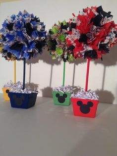 Mickey Mouse birthday party decorations