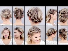 10 SUPER EASY TOPSY TAIL HAIRSTYLES EVERY GIRL SHOULD TRY - YouTube