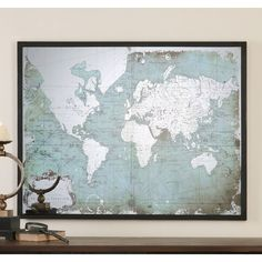 World map rustic style uncustomized old style wall map map mirrored world map art gumiabroncs Images