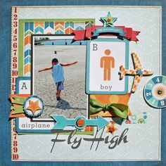 Creatively Savvy: Fly High *Echo Park All About a Boy