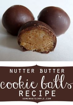 nutter butter cookie balls