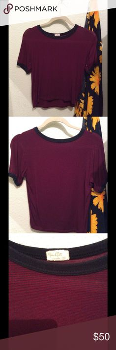 Brandy Melville / John Galt Top •Super cute & comfy classic brandy top! Price is higher for offers but I love this top so it won't go for cheap. One size  •Condition: Worm once. Very gently pilling from wash shown but not noticeable on. SALE is FINAL  •Please feel free to make offers! ✅  •NO ❌🅿️🅿️or Ⓜ️erc❌ •I am able to model (almost all of- No intimates or swim) items I have posted! If I haven't already- just ask 😊  •Measurements & more pictures available upon request!  •FREE GIFT…