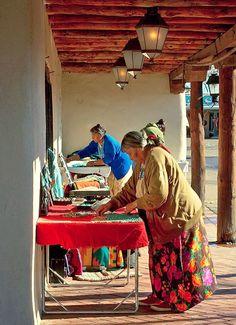 Old Town, Albuquerque - Vendors