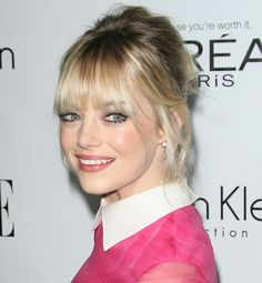 Emma Stone attends ELLE's 19th Annual Women in Hollywood Celebration held at the Four Seasons Hotel in Beverly Hills on October 15, 2012