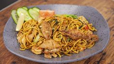 Mee Goreng.  Recipe from Everyday Gourmet with Justine Schofield