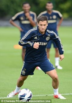 Good on the ball: Eden Hazard impressed on Sunday.  Between Hazard and Oscar, I may even tolerate Chelsea by year end