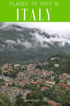 Places to visit in Italy - Varallo. The last glimpse of Milan fades away in the rear vision mirror of our rented Fiat.