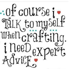 Expert Crafting Advice